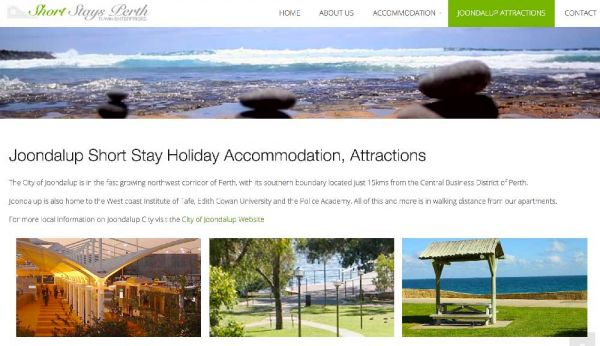 Short Stay Accommodation Perth